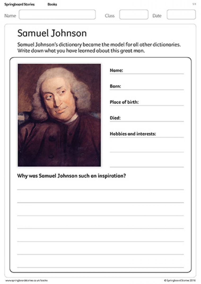 Samuel Johnson profile